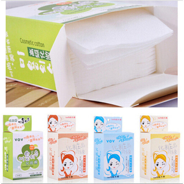 1 Box Professional Cleansing Soft Cotton Beauty Tools Packed Primary Colors Bamboo Fiber Skin Care Makeup Remover Cotton - EnsoStore