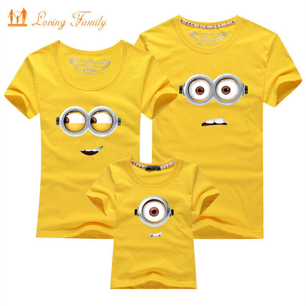 1 Piece Family Look T-shirt 13 Colors Clothes For 2017 Summer matching family clothes mother father daughter son Top Clothing-Family Matching Outfits-Enso Store-White-baby 4T-Enso Store