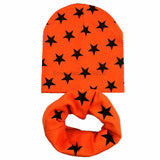 1 Set Autumn Winter Crochet Baby Hat Girl Boy Cap Baby Beanies Infant Toddlers Kids Hat Scarf Collars - EnsoStore