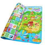 1cm Thick Baby Crawling Thick Play Mat , EVA Foam Mat ,Educational Alphabet Game Rug For Children Puzzle Activity Gym Carpet - EnsoStore