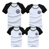1pcs Family T Shirts 2016 Summer Family Matching Clothes Army Color Family Look T-shirt Tees For Mother Daughter Father Son Kids - EnsoStore