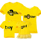 2016 Family Matching Outfits Summer Family Look Matching Clothes Mother Daughter  Short sleeve Dress 9Colors - EnsoStore