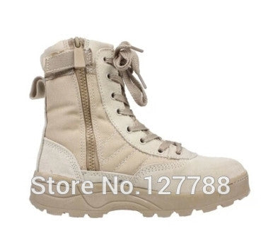 2016 Hot Sale Brand New Men Tactical Military boots autumn and winter desert boots skid outdoor shoes B161 - EnsoStore