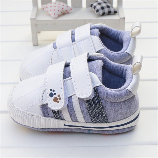 d335a16032d9 2016 New Baby Boy Shoes Good Quality Grey Two Strap New Born Baby Girl  Toddler First ...