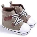 2016 New  Baby Boy Shoes Good Quality Grey Two Strap New Born Baby Girl Toddler First Walkers For 0-18 Month Sapatinho Menino - EnsoStore