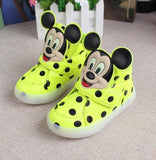 2016 New European fashion cute LED lighting children shoes hot sales Lovely kids sneakers high quality cool boy girls boots-Children's Shoe-Enso Store-huang-5.5-Enso Store