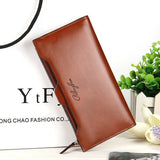2016 new leather Women Wallet Portable Multifunction Long Wallets,hot female Change Purse,lady coin purses card holder carteras-Women's Wallets-Enso Store-dark brown-Enso Store