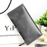 2016 new leather Women Wallet Portable Multifunction Long Wallets,hot female Change Purse,lady coin purses card holder carteras-Women's Wallets-Enso Store-grey-Enso Store