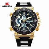 2017 Amuda Men Quartz Wristwatches Fashion Sport Watch Auto Date 30M Waterproof Army Military Clocks Relogio Masculino - EnsoStore