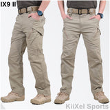 2017 IX9 II Men Militar Tactical Pants Combat Trousers SWAT Army Military Pants Mens Cargo Outdoors Pants Casual Cotton Trousers-Men's Pants-Enso Store-Black Color-S-Enso Store