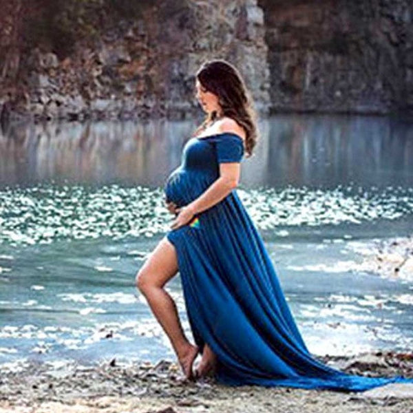 5c4f9e372671c 2017 maternity photography props maxi Maternity gown Lace Maternity Dress  Fancy shooting photo summer pregnant dress