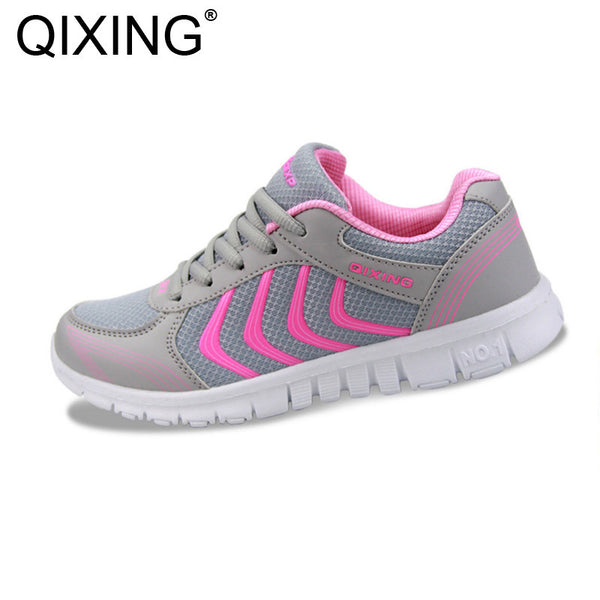 2017 Men Women Sneakers Autumn Spring Outdoor Popular Running Shoes Sport Breathable-Women's Running Shoes-Enso Store-White-5.5-Enso Store