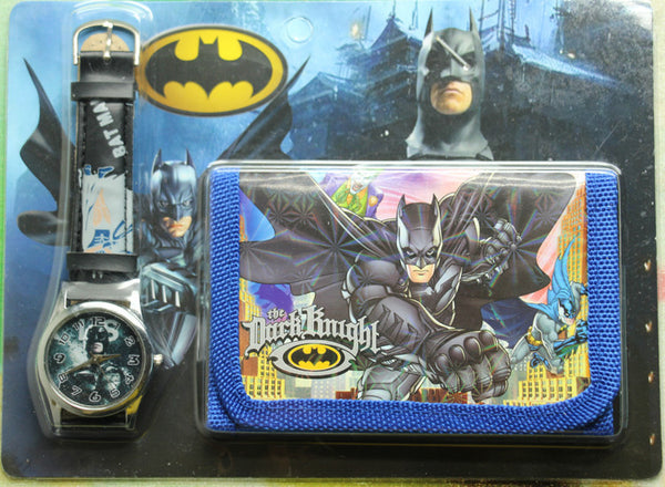 2017 new 1pcs/lot batman Watch with wallet,birthday gift for children Y005-Children's Watches-Enso Store-Enso Store