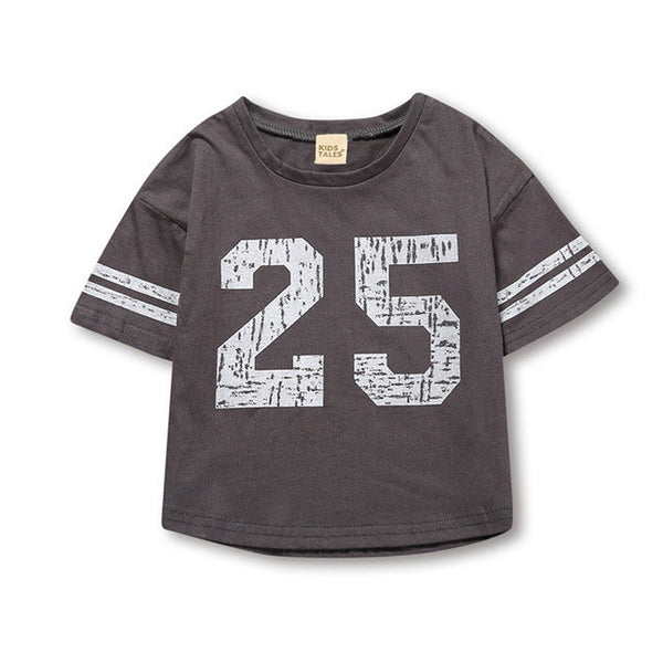 2017 New Children's T shirt Boys T-shirt Baby Clothing Little Boy Summer Shirt Baby Tees Designer Cotton Cartoon Clothes MBT005-Boys Clothing-Enso Store-as photo-3T-Enso Store
