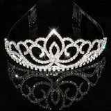 2017 New Fashion Princess Bride rhinestone crystal tiara crown wedding accessories-Jewelry Sets & More-Enso Store-10-Enso Store
