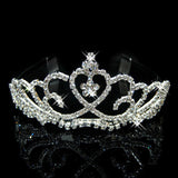 2017 New Fashion Princess Bride rhinestone crystal tiara crown wedding accessories-Jewelry Sets & More-Enso Store-11-Enso Store