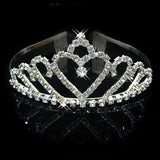 2017 New Fashion Princess Bride rhinestone crystal tiara crown wedding accessories-Jewelry Sets & More-Enso Store-12-Enso Store