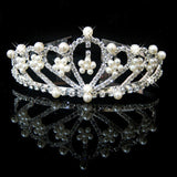 2017 New Fashion Princess Bride rhinestone crystal tiara crown wedding accessories-Jewelry Sets & More-Enso Store-3-Enso Store