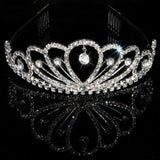 2017 New Fashion Princess Bride rhinestone crystal tiara crown wedding accessories-Jewelry Sets & More-Enso Store-6-Enso Store