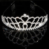 2017 New Fashion Princess Bride rhinestone crystal tiara crown wedding accessories-Jewelry Sets & More-Enso Store-7-Enso Store