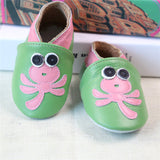 2017 NEW Genuine Leather Cartoon Pattern Soft Baby Shoes First Walkers Toddler Baby Moccasins Anti-slip Infant fringe Shoes-Baby Shoes-Enso Store-A-4.5-Enso Store