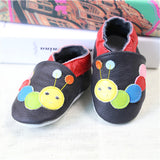 2017 NEW Genuine Leather Cartoon Pattern Soft Baby Shoes First Walkers Toddler Baby Moccasins Anti-slip Infant fringe Shoes-Baby Shoes-Enso Store-E-4.5-Enso Store