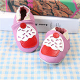 2017 NEW Genuine Leather Cartoon Pattern Soft Baby Shoes First Walkers Toddler Baby Moccasins Anti-slip Infant fringe Shoes-Baby Shoes-Enso Store-F-4.5-Enso Store
