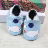 2017 NEW Genuine Leather Cartoon Pattern Soft Baby Shoes First Walkers Toddler Baby Moccasins Anti-slip Infant fringe Shoes-Baby Shoes-Enso Store-O-4.5-Enso Store
