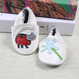 2017 NEW Genuine Leather Cartoon Pattern Soft Baby Shoes First Walkers Toddler Baby Moccasins Anti-slip Infant fringe Shoes-Baby Shoes-Enso Store-U-4.5-Enso Store