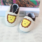 2017 NEW Genuine Leather Cartoon Pattern Soft Baby Shoes First Walkers Toddler Baby Moccasins Anti-slip Infant fringe Shoes-Baby Shoes-Enso Store-V-4.5-Enso Store