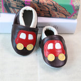 2017 NEW Genuine Leather Cartoon Pattern Soft Baby Shoes First Walkers Toddler Baby Moccasins Anti-slip Infant fringe Shoes-Baby Shoes-Enso Store-W-4.5-Enso Store