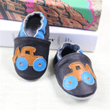 2017 NEW Genuine Leather Cartoon Pattern Soft Baby Shoes First Walkers Toddler Baby Moccasins Anti-slip Infant fringe Shoes-Baby Shoes-Enso Store-Y-4.5-Enso Store