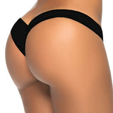 2017 new hot sale black V shape sexy brazilian bikini bottom women swimwear swimsuit trunk tanga micro briefs Panties Underwear-Women's Swimwear-Enso Store-black skull-S-Enso Store