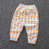 2017 New Spring and Autumn Lovely Children Character Cotton Striped Pants Newborn Boy Children's Clothing Children's Pants CP181 - EnsoStore