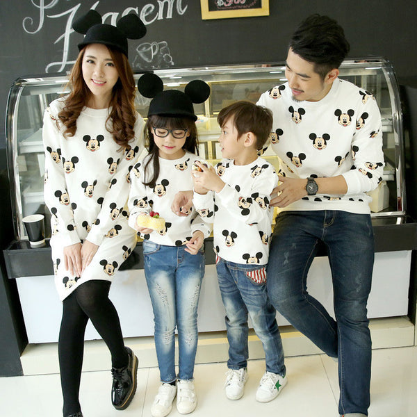 7d5ff1742a6af 2017 New Spring family matching outfits baby outwear mother and son clothes  MW43 terry fabric kids clothing mother dress