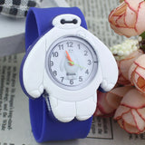 2017 PINBO Children Cute Jelly Cartoon Watch Children Baymax Quartz Watch Casual Patted the Watches Kids Clock Relogio Feminino-Children's Watches-Enso Store-Blue-Enso Store