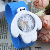 2017 PINBO Children Cute Jelly Cartoon Watch Children Baymax Quartz Watch Casual Patted the Watches Kids Clock Relogio Feminino-Children's Watches-Enso Store-Sky Blue-Enso Store