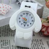 2017 PINBO Children Cute Jelly Cartoon Watch Children Baymax Quartz Watch Casual Patted the Watches Kids Clock Relogio Feminino-Children's Watches-Enso Store-White-Enso Store