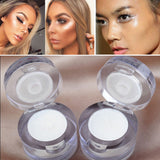 2017 Professional 2 in 1 White Single Eyeshadow Waterproof Long Lasting Shimmer Face Highlighter Contour Makeup Free Shipping-Makeup-Enso Store-Enso Store