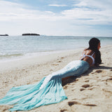 2017 Sexy Women mermaid-tail Beach Wear Swimsuit Princess Split Cover Up Ladies Swimwear saida de praia Cosplay Beachwear Female-Women's Swimwear-Enso Store-Enso Store
