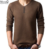 2017 Spring autumn Brand men Casual sweater mens Cashmere Wool Pullover christmas sweater men Dress Knitted Sweater Clothing-Men's Sweaters-Enso Store-Dark Blue-4XL-Enso Store
