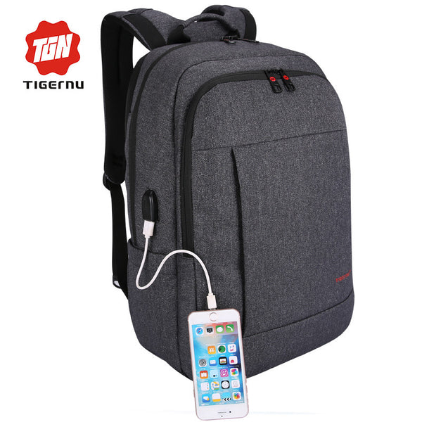 c6d36f3824 2017 Tigernu Anti-thief USB charging 15.6inch laptop backpack for women Men  Backpack school backpack Bag for Male Mochila