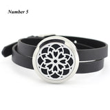 25MM 30MM Fashion perfume locket bracelet 316l stainless steel silver essential oil diffuser locket bracelet-Bracelets & Bangles-Enso Store-Number 1-25mm-Enso Store