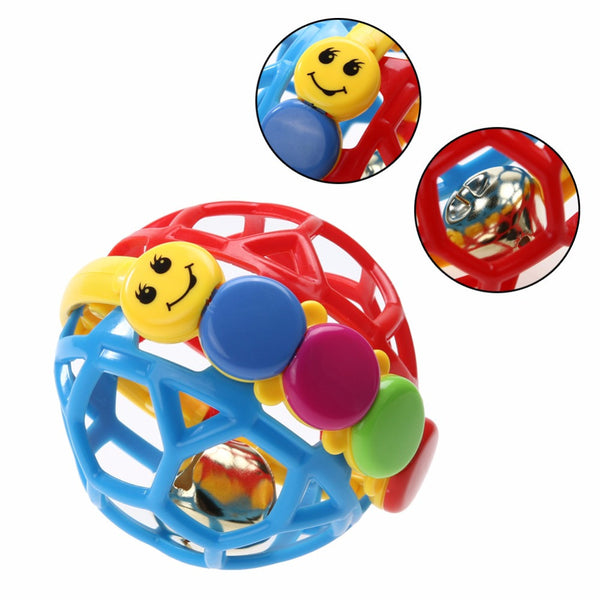 Baby Toy Fun Little Loud Bell Ball Baby ball toy rattles Develop Baby Intelligence Baby Activity Grasping toy Hand Bell Rattle-Baby Toys-Enso Store-Enso Store
