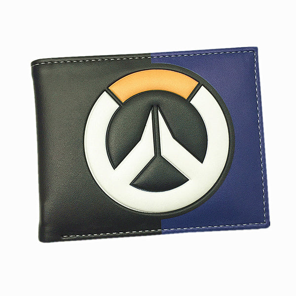 Blizzard Game Overwatch/Tokyo Ghoul 3D Wallets Tracer Reaper Overwatch Purse Billetera For Teenager Leather Money Bag-Men's Wallets-Enso Store-Overwatch 001-Enso Store