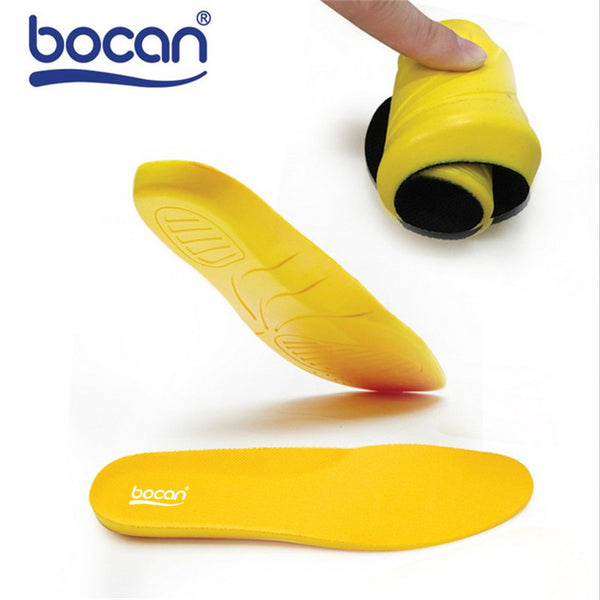 BOCAN Insole for shoes shock absorption breathable comfortable shoe insoles for men and women 002-Shoe Accessories-Enso Store-Black-250mm EU 35 to 39-Enso Store