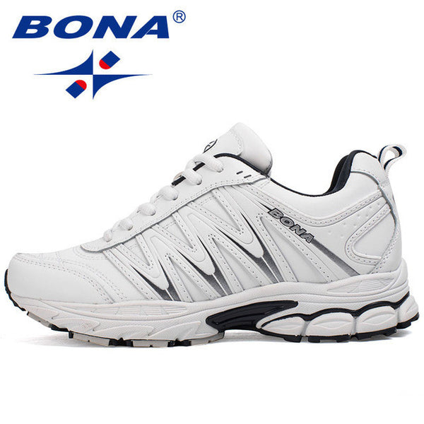 2432ea32af4e6 ... BONA New Hot Style Women Running Shoes Lace Up Sport Shoes Outdoor  Jogging Walking Athletic Shoes ...