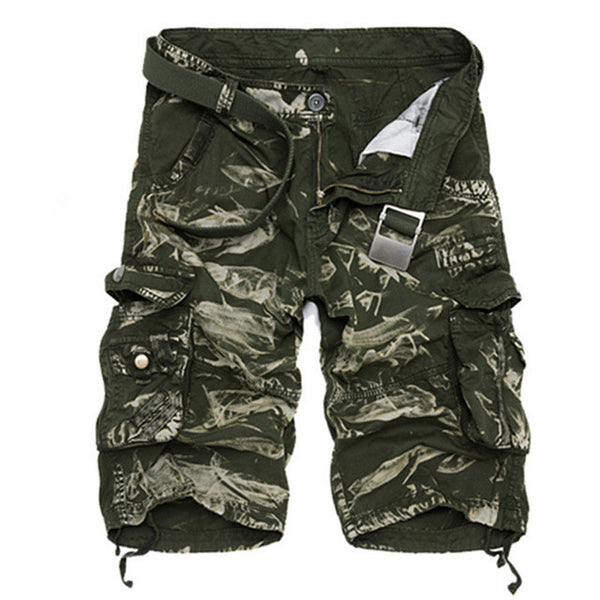 303c66459ef Cargo Shorts Men Cool Camouflage Summer Hot Sale Cotton Casual Men Short  Pants Brand Clothing Comfortable