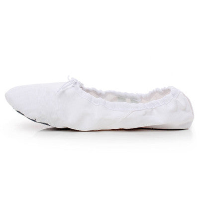 Child And Adult Ballet Pointe Dance Shoes Women's Professional Ballet Dance Shoes Soft Sole Ballet Shoes For Ladies-Sneakers-Enso Store-WHITE-4.5-Enso Store