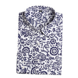 Clearance! Women's Shirt Cotton Floral Print Blouse Long Sleeve Blusas Femininas Floral Woman Blouses Casual Blusas Mujer Shirts-Women's Blouses-Enso Store-Blufloral-4XL-Enso Store